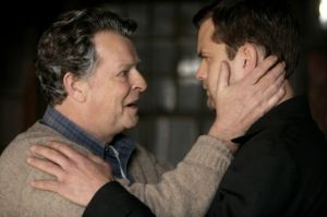 John Noble and Joshua Jackson in 'Fringe'