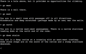 Zork Screen Shot