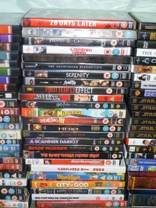 Random Stack of DVDs