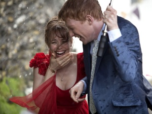 Rachel McAdams & Domhnall Gleeson in 'About Time'