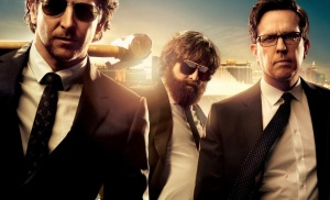 Bradley Cooper, Zach Galifianakis, Ed Helms in 'The Hangover Part III'