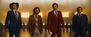 Champ Kind, Brian Fantana, Ron Burgandy and Brick Tamland are back in 'Anchorman: The Legend Continues'