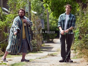 Kevin Smith & Sam Jaeger in 'Catch and Release'