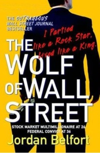 'The Wolf of Wall Street' book cover