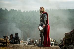 Chris Hemsworth as the Norse God himself