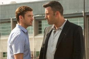 Justin Timberlake & Ben Affleck face off in 'Runner Runner'
