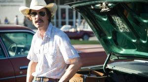 Matthew McConaughey as Ron Woodroof in 'Dallas Buyers Club'