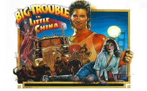 Big Trouble in Little China poster art