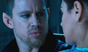 The yummy (Yes I am man enough to say it) Channing Tatum in 'Jupiter Ascending'