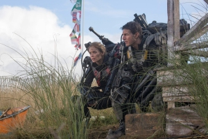 Emily Blunt and Tom Cruise in 'Edge of Tomorrow'