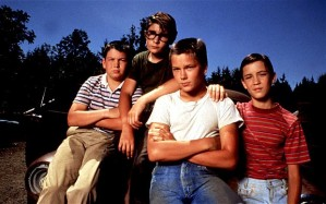 Jerry O'Connell, Corey Feldman, River Phoenix, and Wil Wheaton