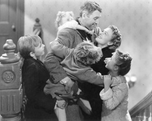 Screen shot from the classic 'It's a Wonderful Life'