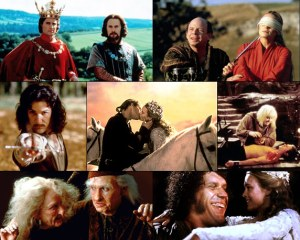Screen shots from 'The Princess Bride'