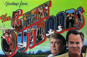 'The Great Outdoors' poster card promo poster