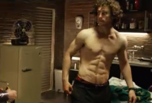 Aaron Johnson's very impressive body in 'Kick-ass 2'