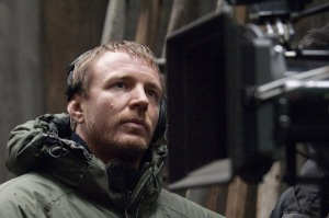 Guy Ritchie on the set of 'Sherlock Holmes'