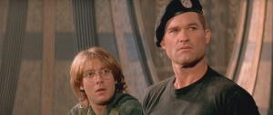 James Spader and Kurt Russell in the original 'Stargate'