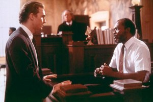 Matthew McConaughey and Samuel L. Jackson in 'A Time To Kill'