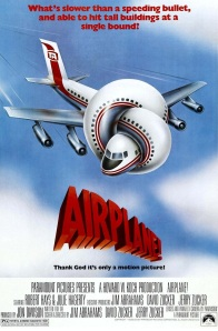 Original movie poster for 'Airplane!'