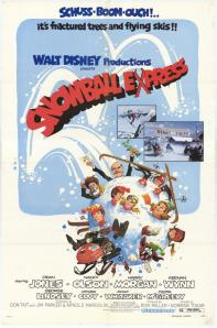 Original poster for 'Snowball Express'