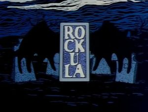 Rockula animated title credits