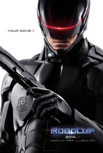 Teaser poster for the new 'RoboCop'