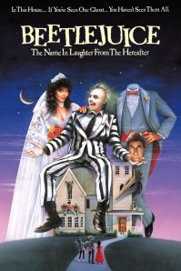 The iconic movie poster for Beetlejuice