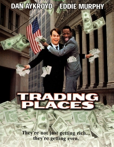 Trading Places movie poster