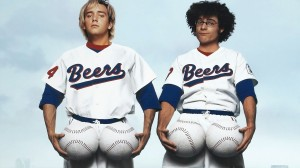 Trey Parker and Matt Stone in 'BASEketball'
