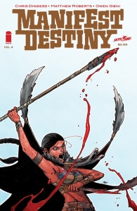 Manifest Destiny #4 cover
