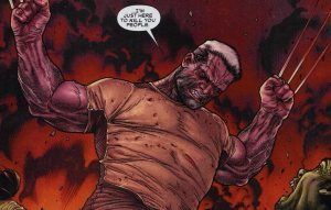 Panal from 'Wolverine - Old Man Logan'