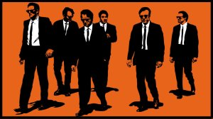 Rendering of the iconic shot from 'Reservoir Dogs'