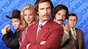 The main cast of 'Anchorman'