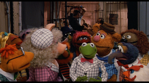 Screen shot from 'The Muppets Take Manhattan'